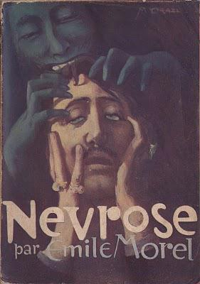 illustration de couverture de Névrose par Orazi